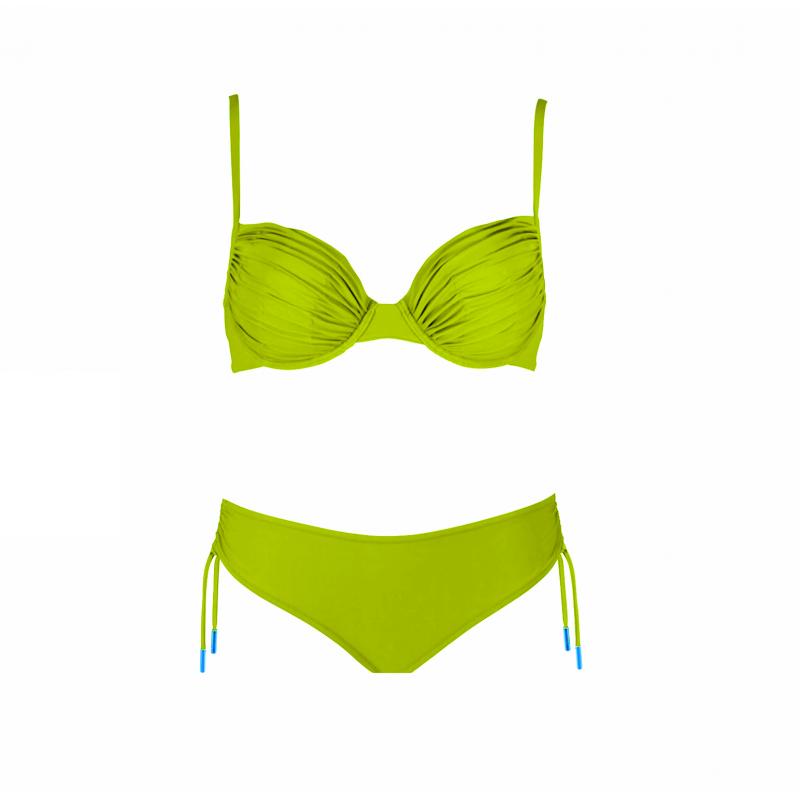 Maryan Mehlhorn Luxury limetkové plavky