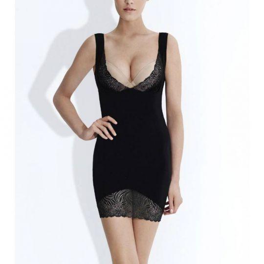 Simone Perele Top Model černé stahovací šaty