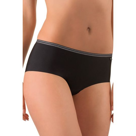 Conturelle Fitness Move černé sportovní šortky